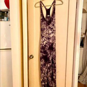 Stretchy Maxi Tiedye Dress